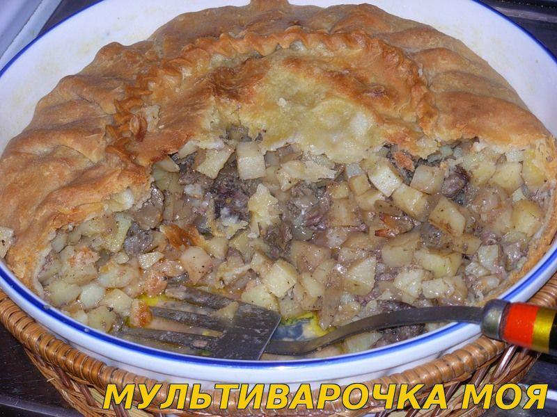 Балиш с курицей и картошкой - пошаговый рецепт с фото на